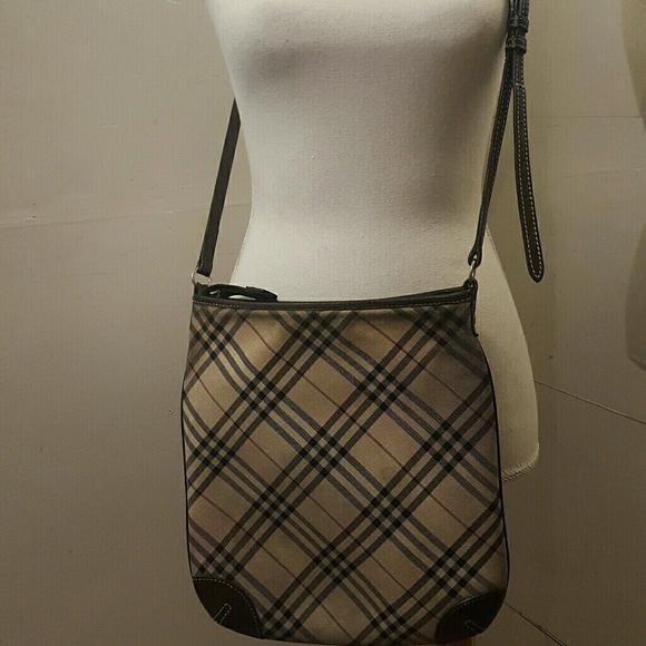 Burberry Handbags - Auth burberry london blue label canvas c-bodybag 39335d15d75ca